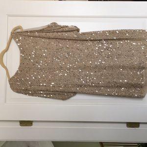 Gild Sequin Aidan Mattox Dress size 10